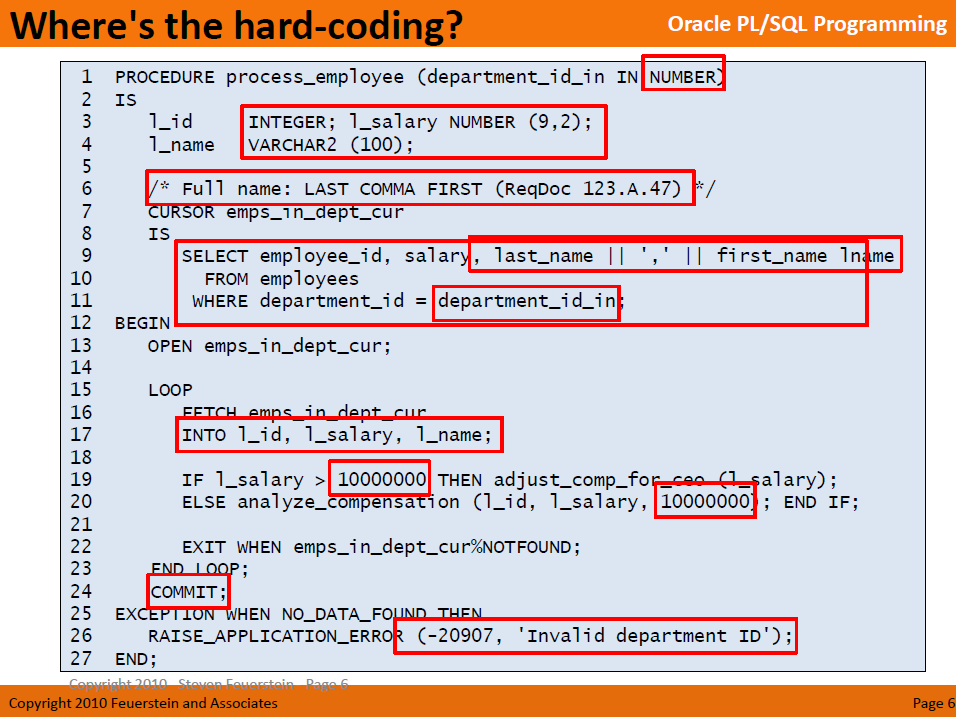 PL/SQL | Jeff Kemp on Oracle | Page 3