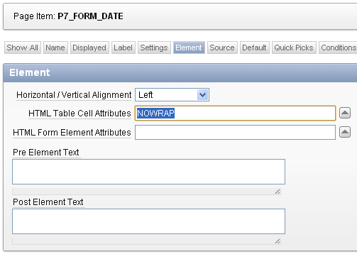 Apex tip how to fix the date picker icon position jeff for Table th nowrap
