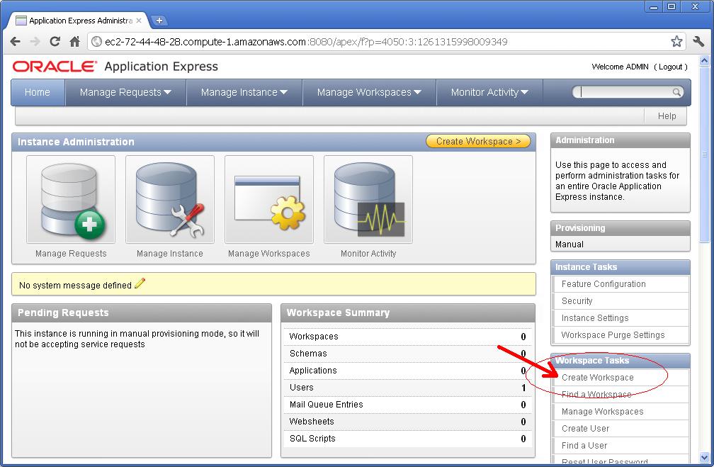 Installing Oracle 11gXE on Amazon Elastic Cloud | Jeff Kemp