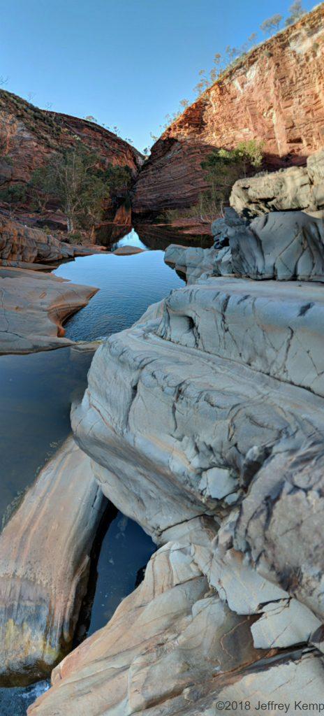 Hamersley Gorge, Karajini National Park, Western Australia. ©2018 Jeffrey Kemp